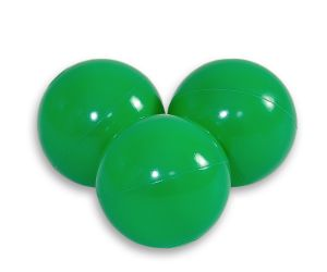 Plastic balls for the dry pool 50pcs - green
