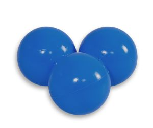 Plastic balls for the dry pool 50pcs - navy blue