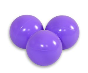 Plastic balls for the dry pool 50pcs - lawender