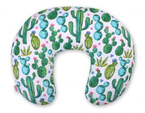 Extra cover for feeding pillow- cactus